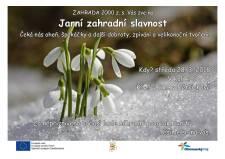 Zveme všechny, kdo chtějí přivolat jaro! - JARNÍ ZAHRADNÍ SLAVNOST